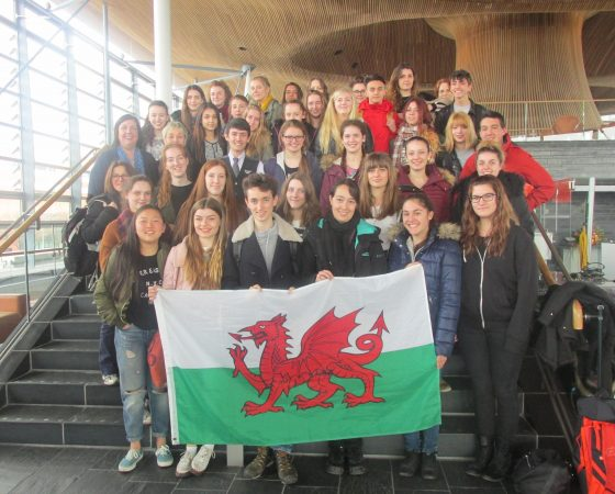 Echange au Pays de Galles : 2016